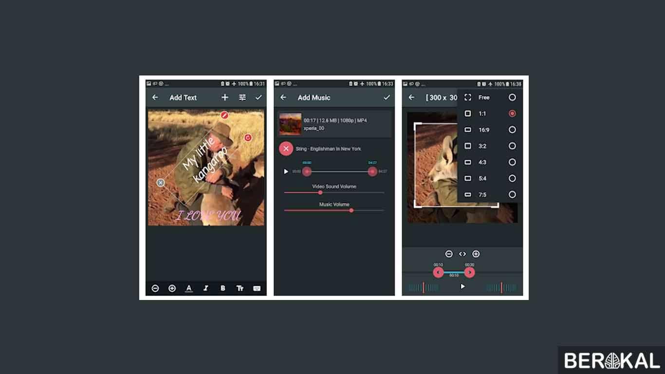 aplikasi edit video android untuk vlog