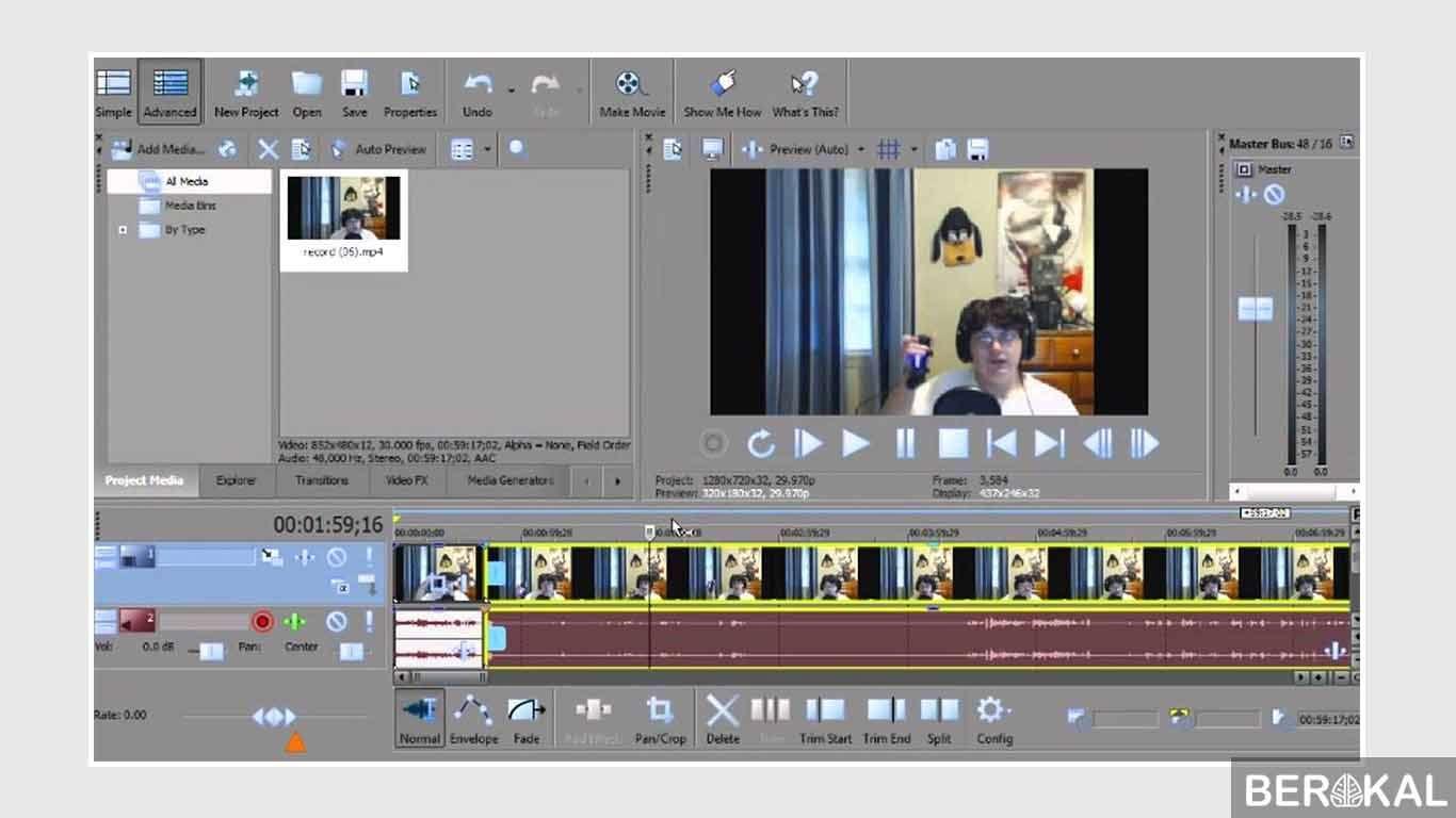 aplikasi edit video tutorial make up