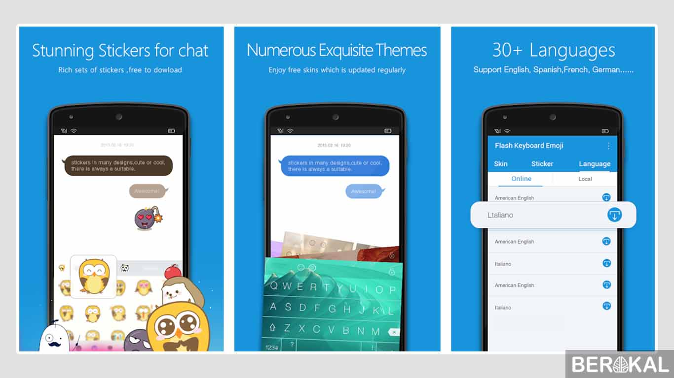 aplikasi keyboard terbaik android 2019