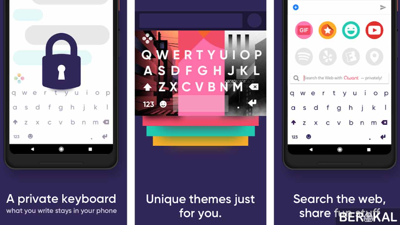 aplikasi keyword android bergambar