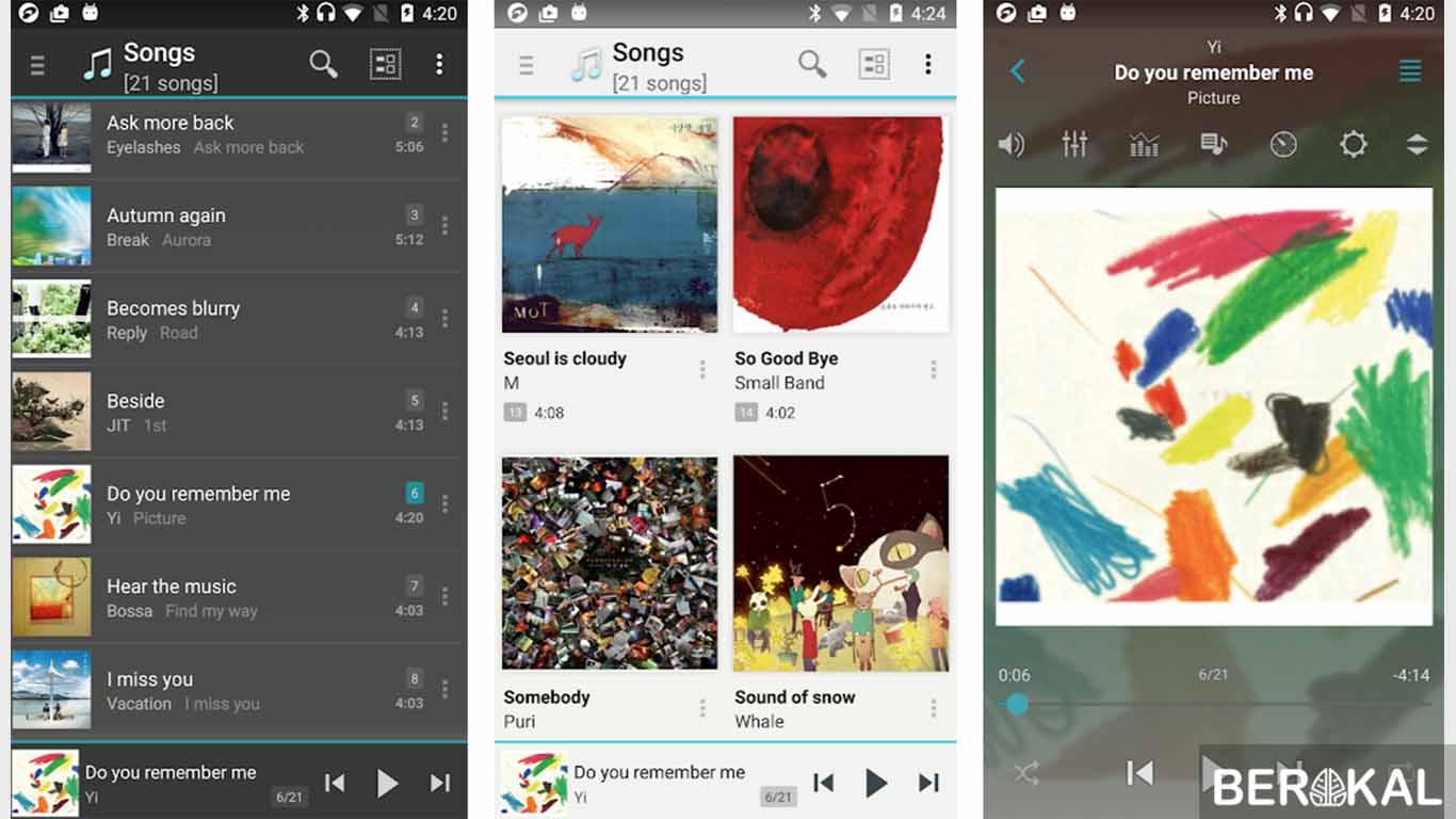 aplikasi pemutar musik di laptop