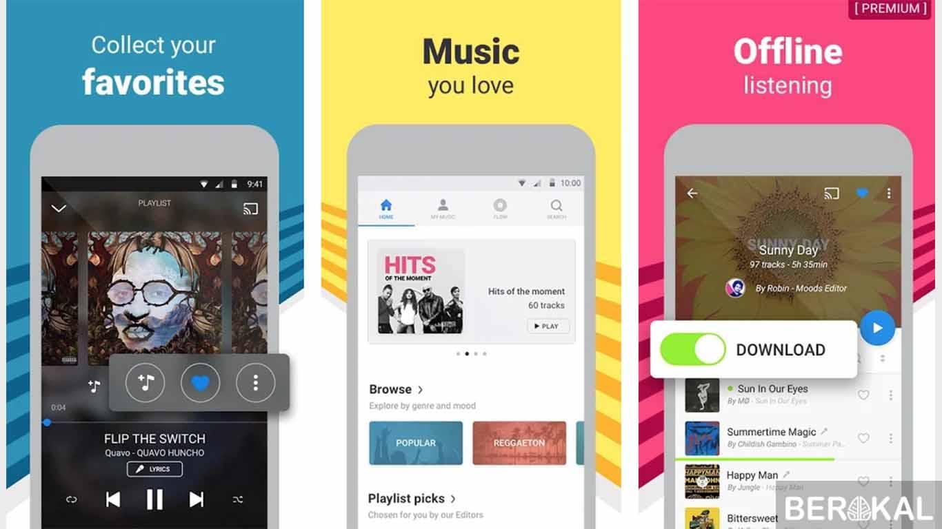 aplikasi pemutar musik gratis