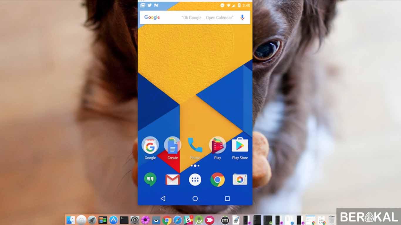 cara menampilkan layar android di pc dengan bluetooth