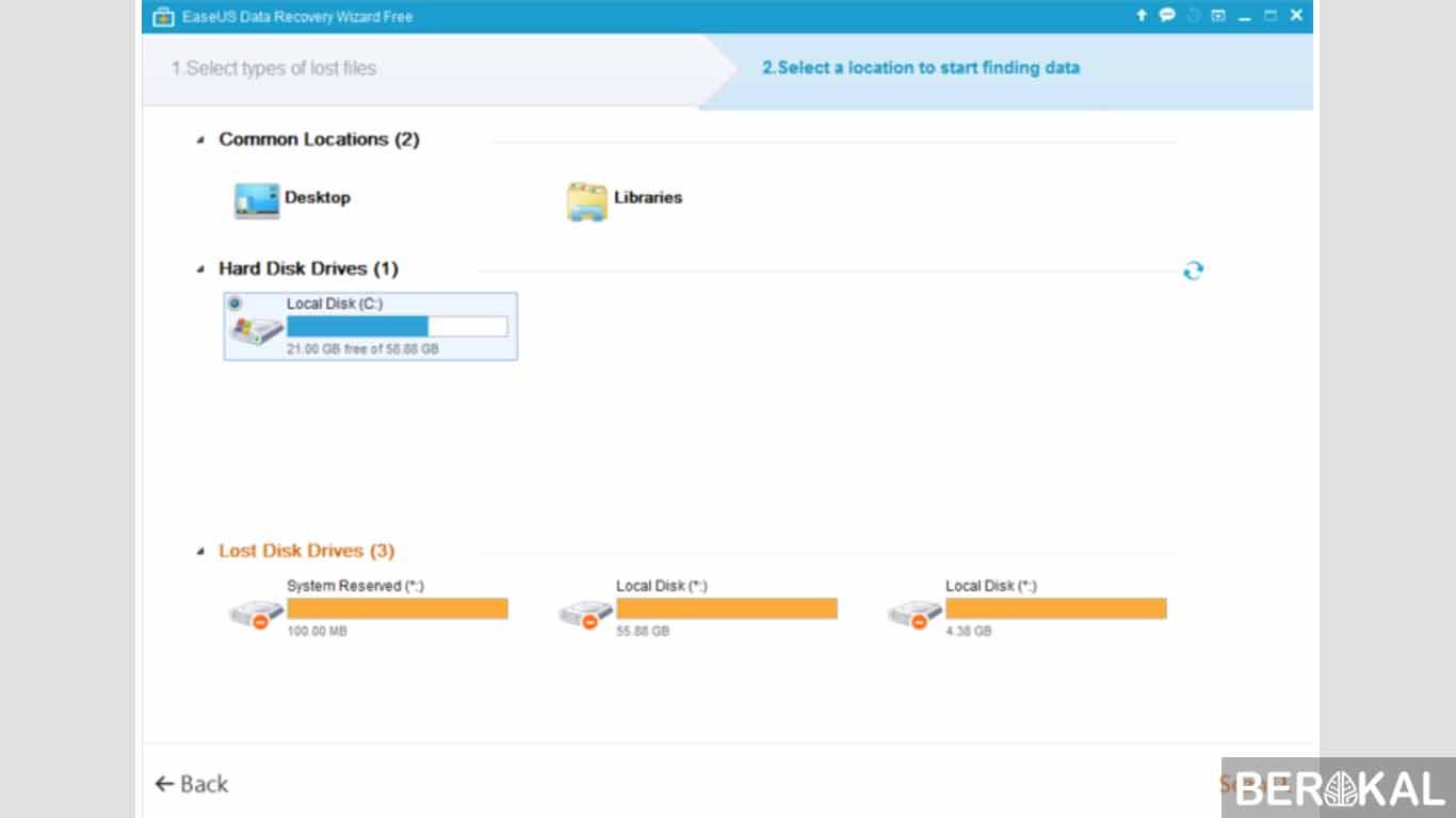 cara mengembalikan data hardisk yang terformat pada windows 7
