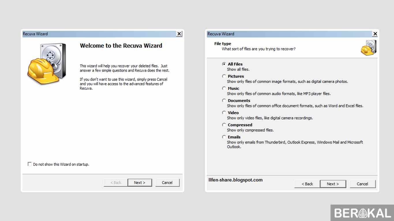 cara mengembalikan data yang terformat di flashdisk tanpa software