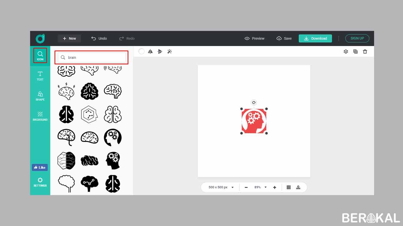 design logo online gratis