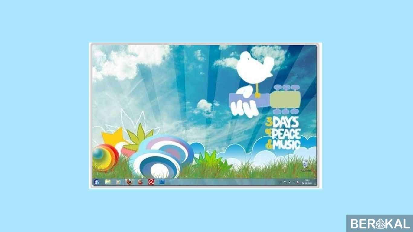 download tema windows 7 transparan