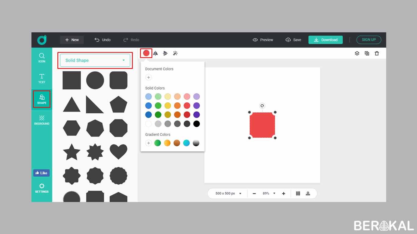 Cara Membuat Logo Online Shop Lucu Di Pc Hp Gratis