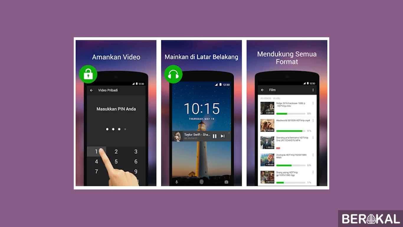 pemutar video terbaik android 2019
