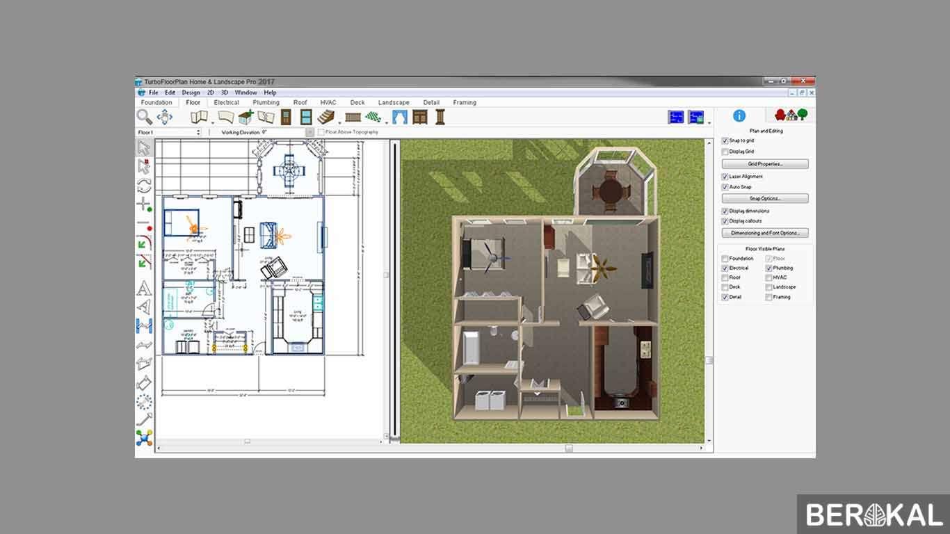 software desain rumah online