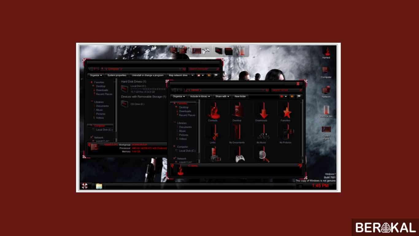 tema windows 7 64 bit