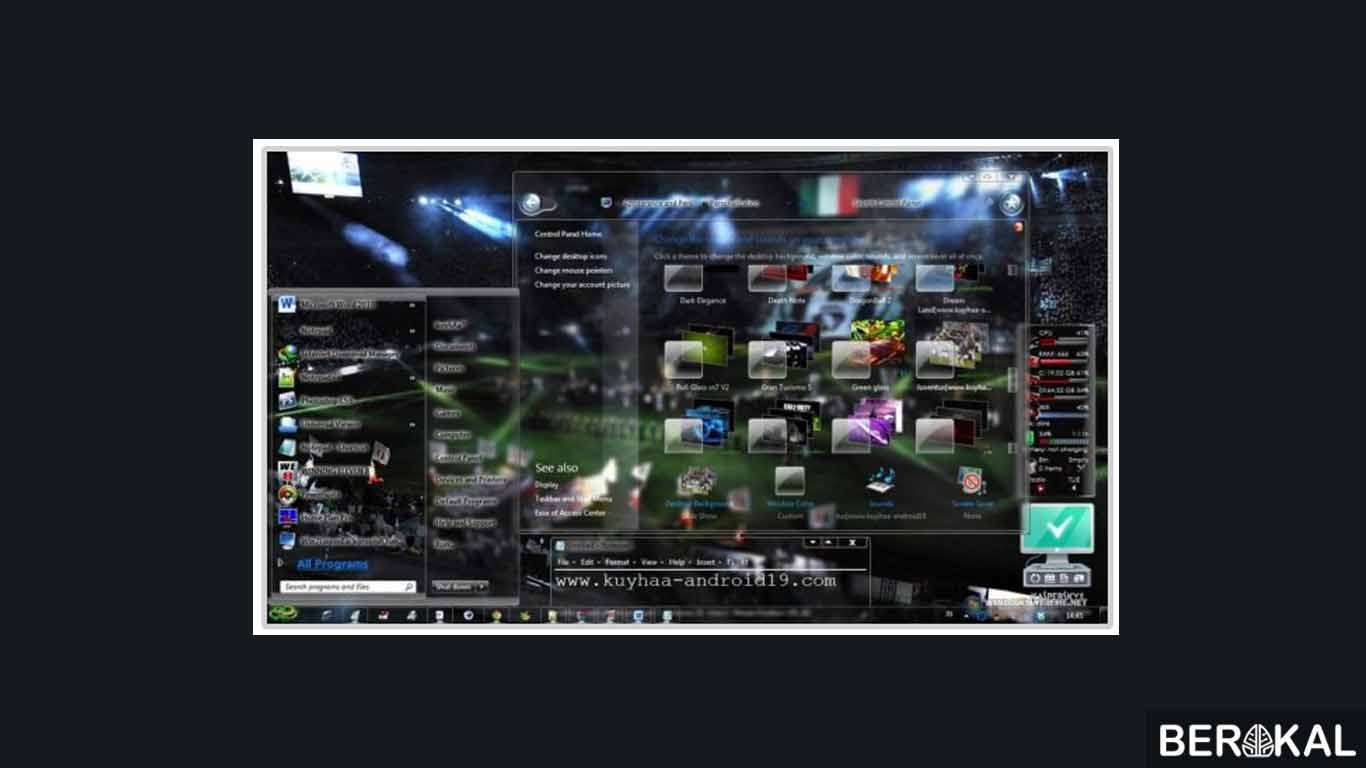√ 31 Tema Windows 7 All Genre Gratis 2020 Link Download