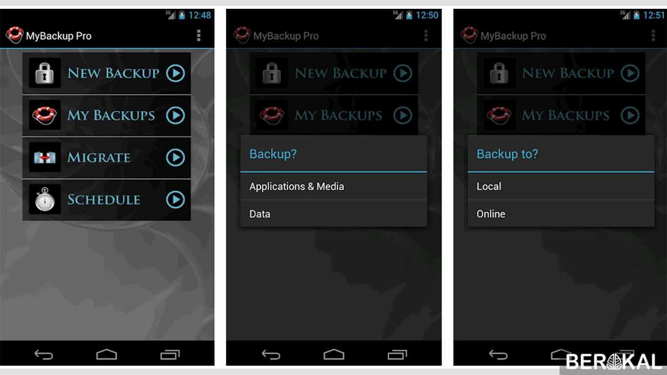 aplikasi backup kontak android