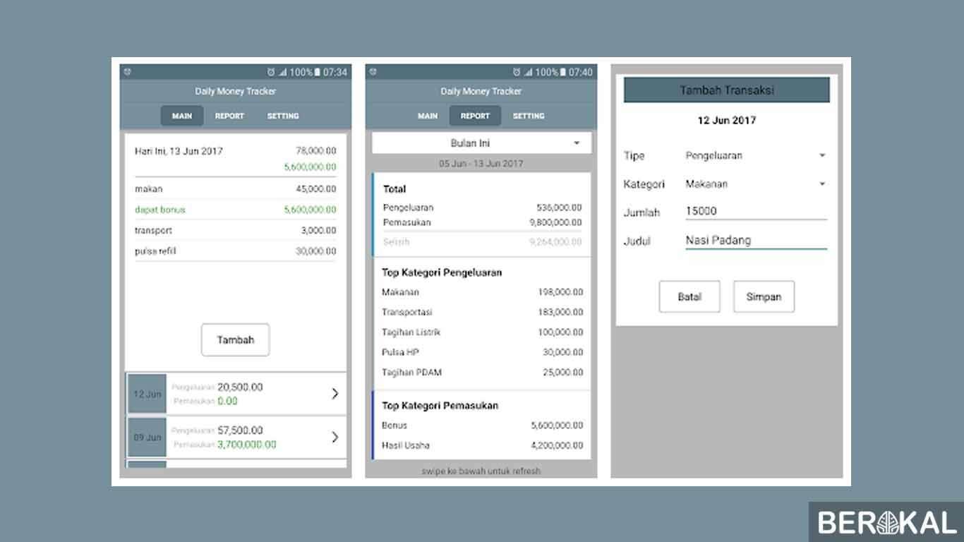 aplikasi keuangan android bahasa indonesia