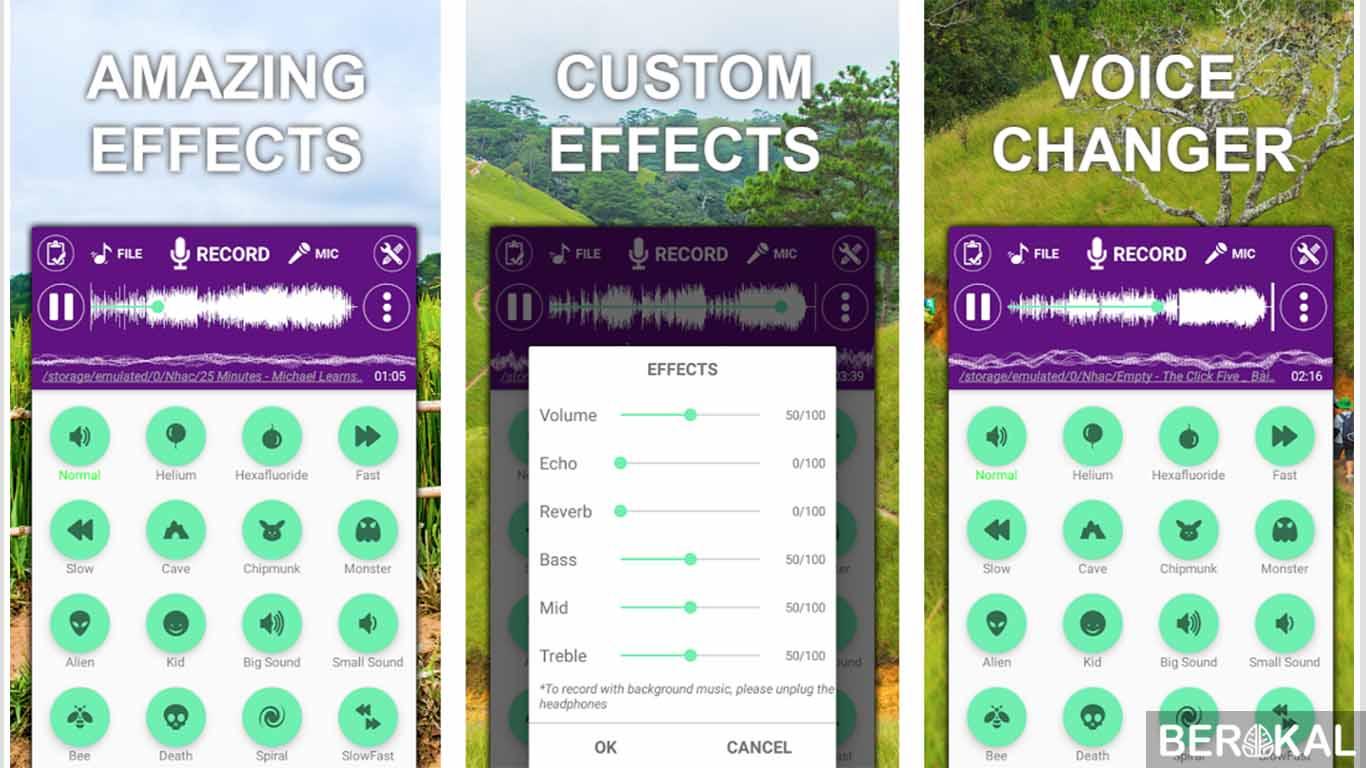 aplikasi pengubah suara saat main game