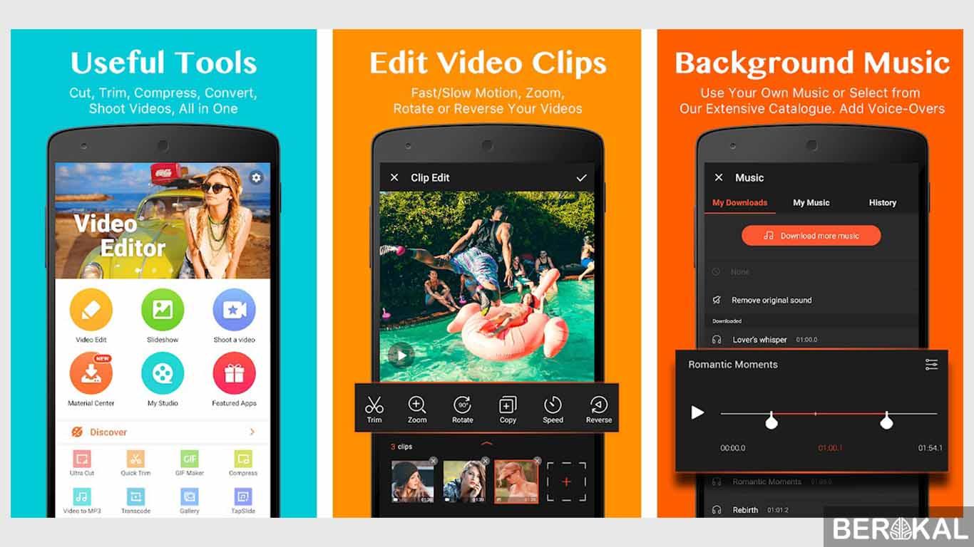 12 Aplikasi Editing Video Slow Motion Terbaik 2019