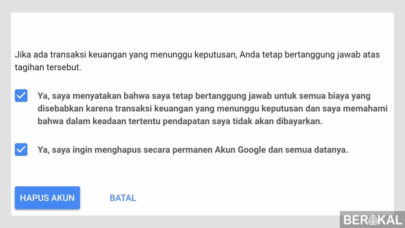 cara menghapus akun gmail di hp samsung