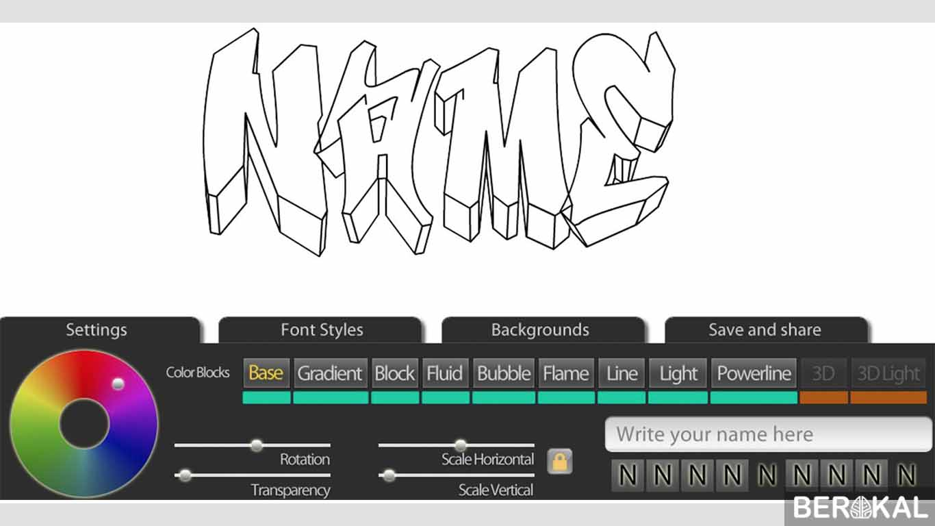 download aplikasi graffiti maker