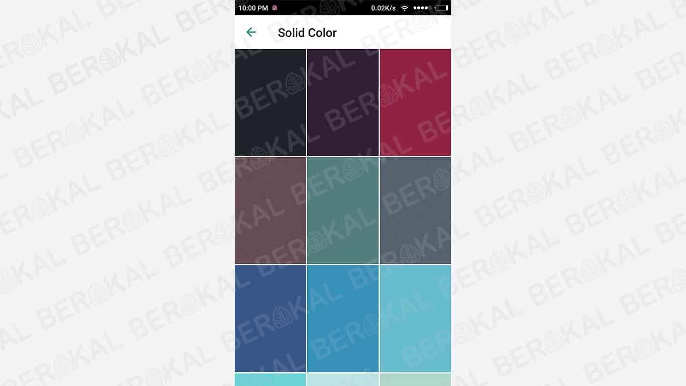 background chat wa dengan warna solid