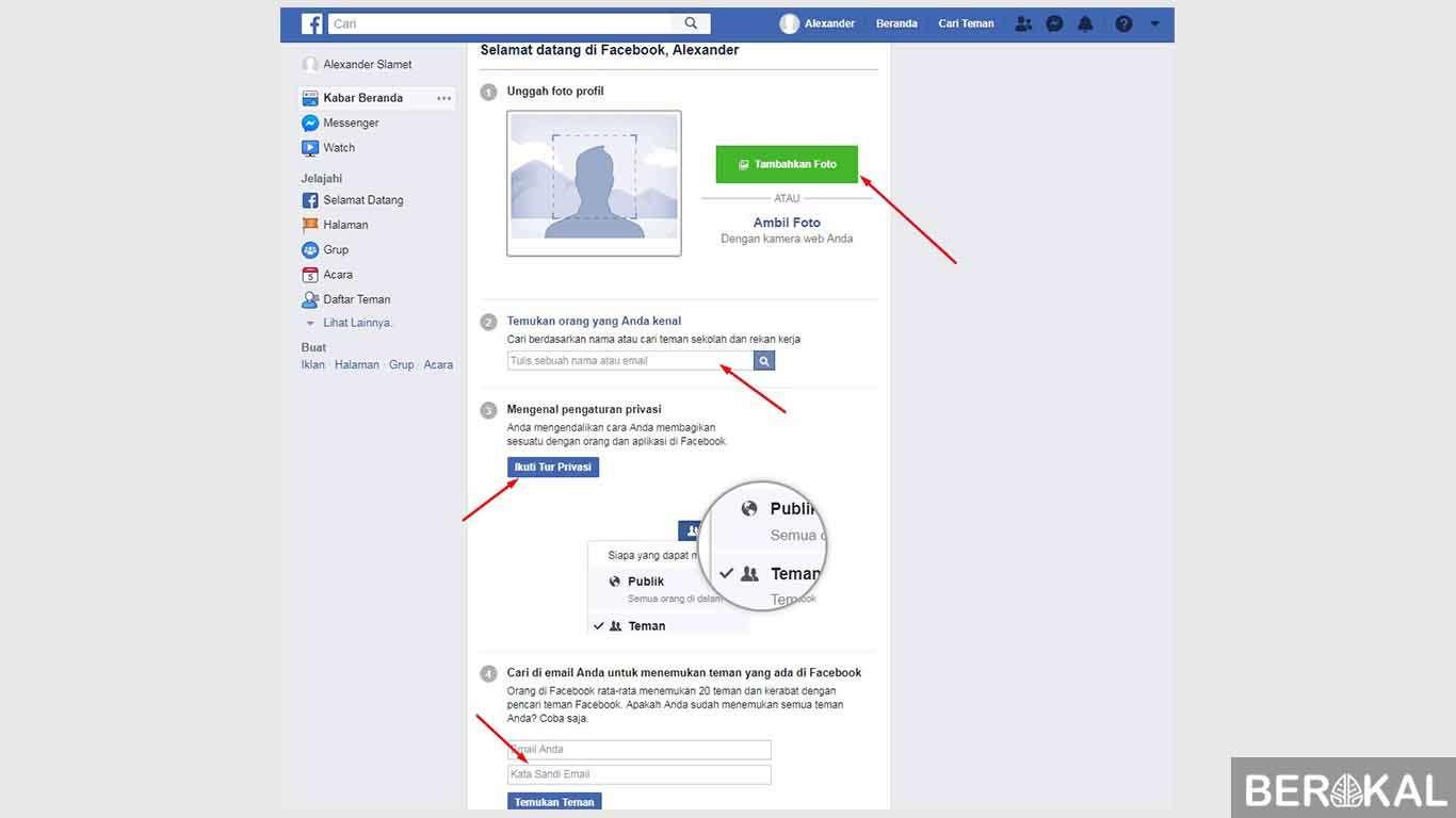 buat akun facebook baru gmail