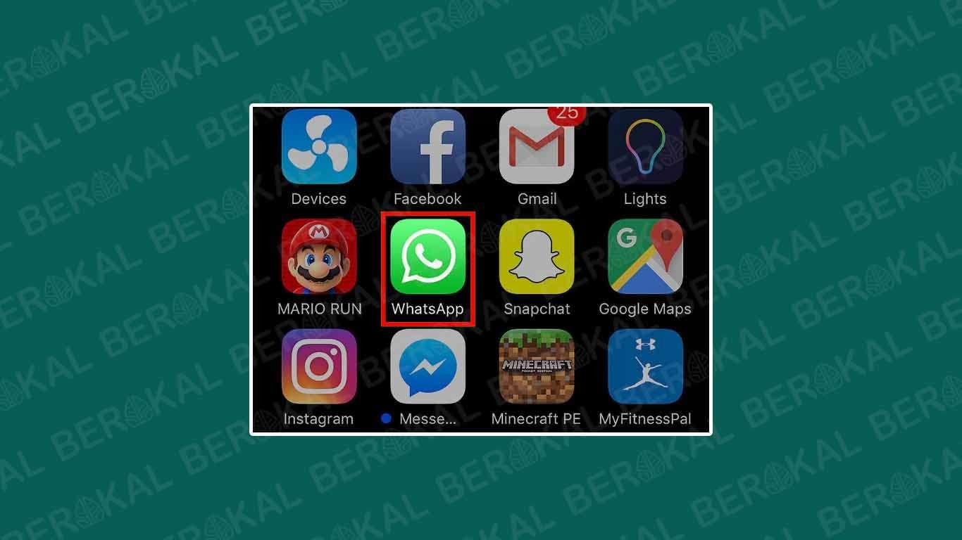 cara logout akun whatsapp di iphone