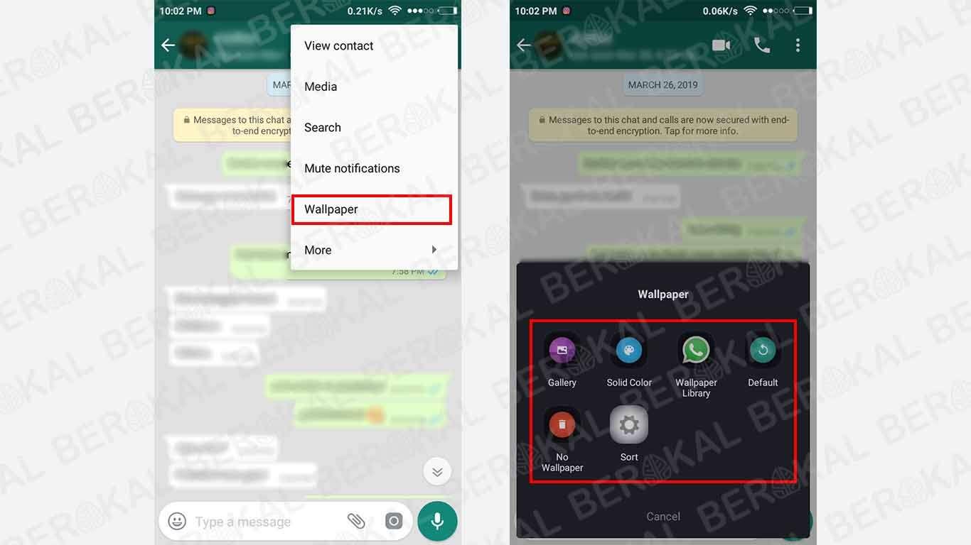 ganti wallpaper chat whatsapp