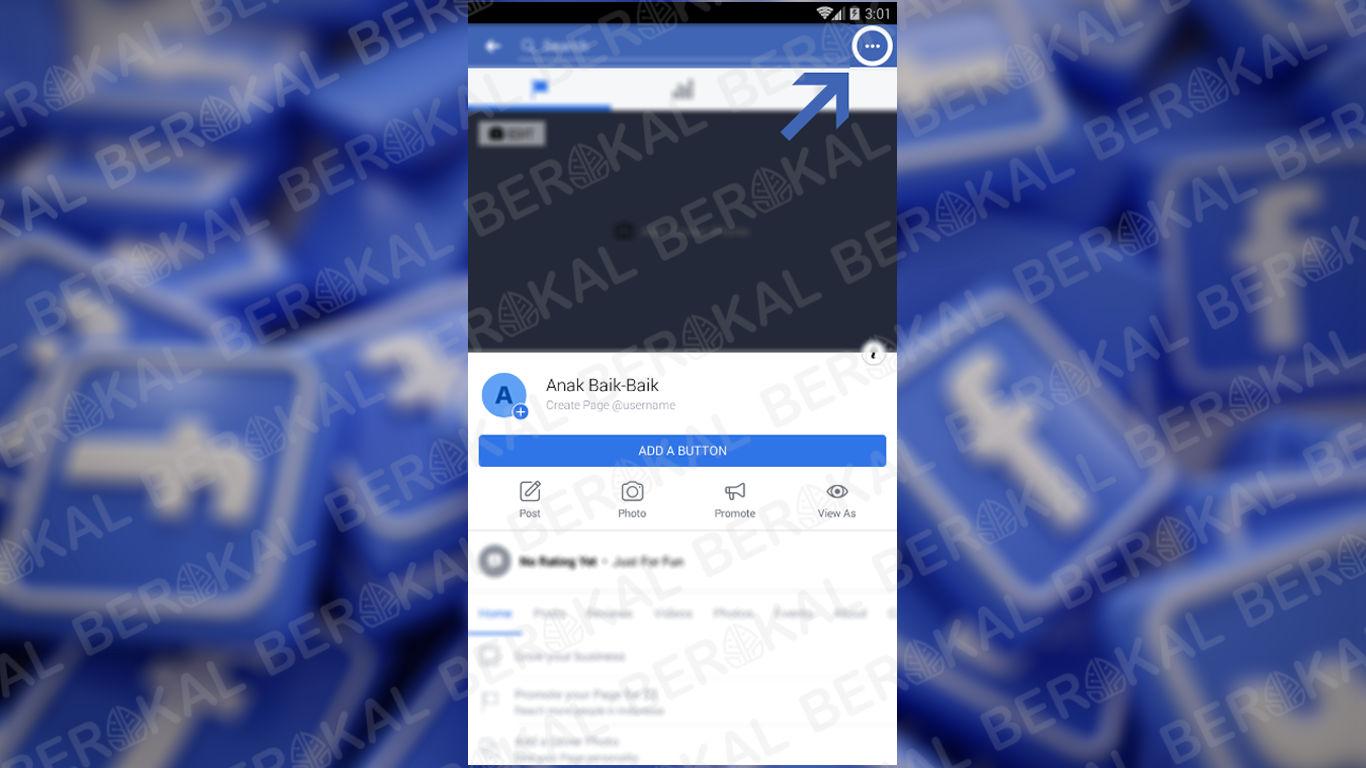 halaman facebook yang akan dihapus
