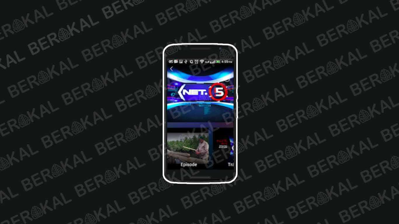 Aplikasi TV Indonesia Android NET