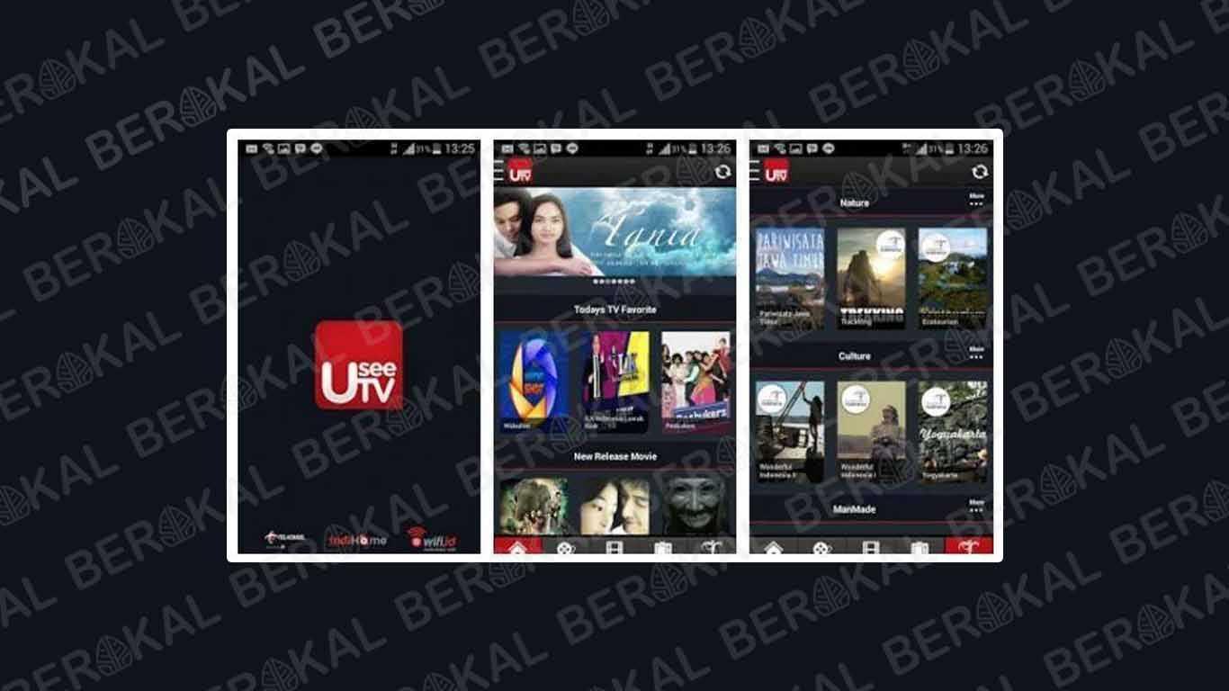 Aplikasi TV Indonesia Android UseeTV
