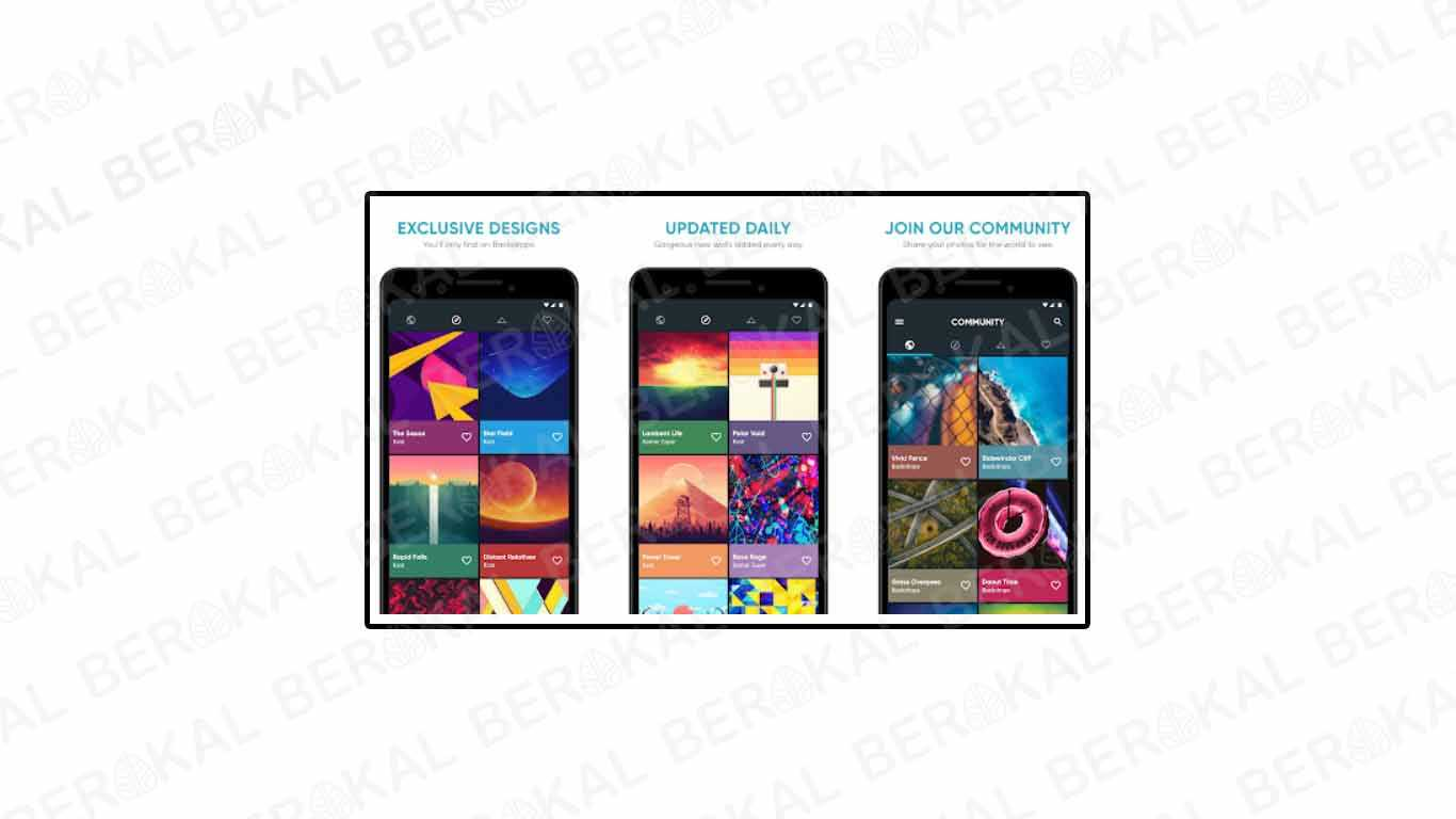 Aplikasi Wallpaper Backdrops