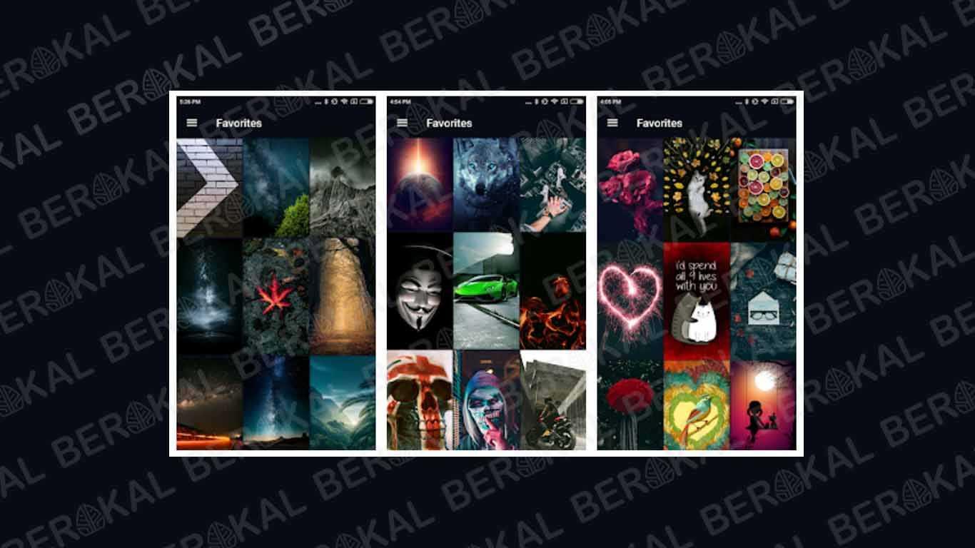 Aplikasi Wallpaper HD