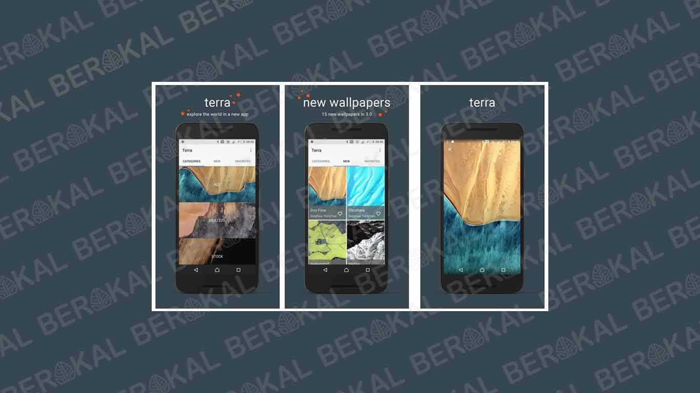Aplikasi Wallpaper Terra Collection