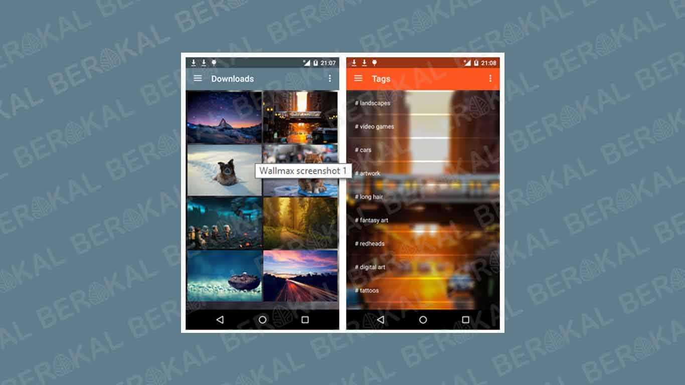 Aplikasi Wallpaper Wallmax