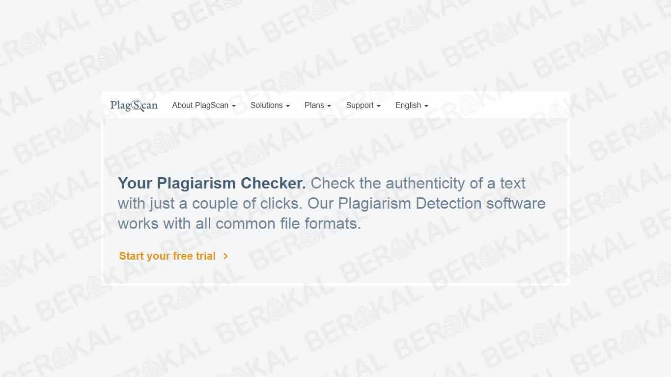 Cara Cek Plagiarisme dengan Plagscan