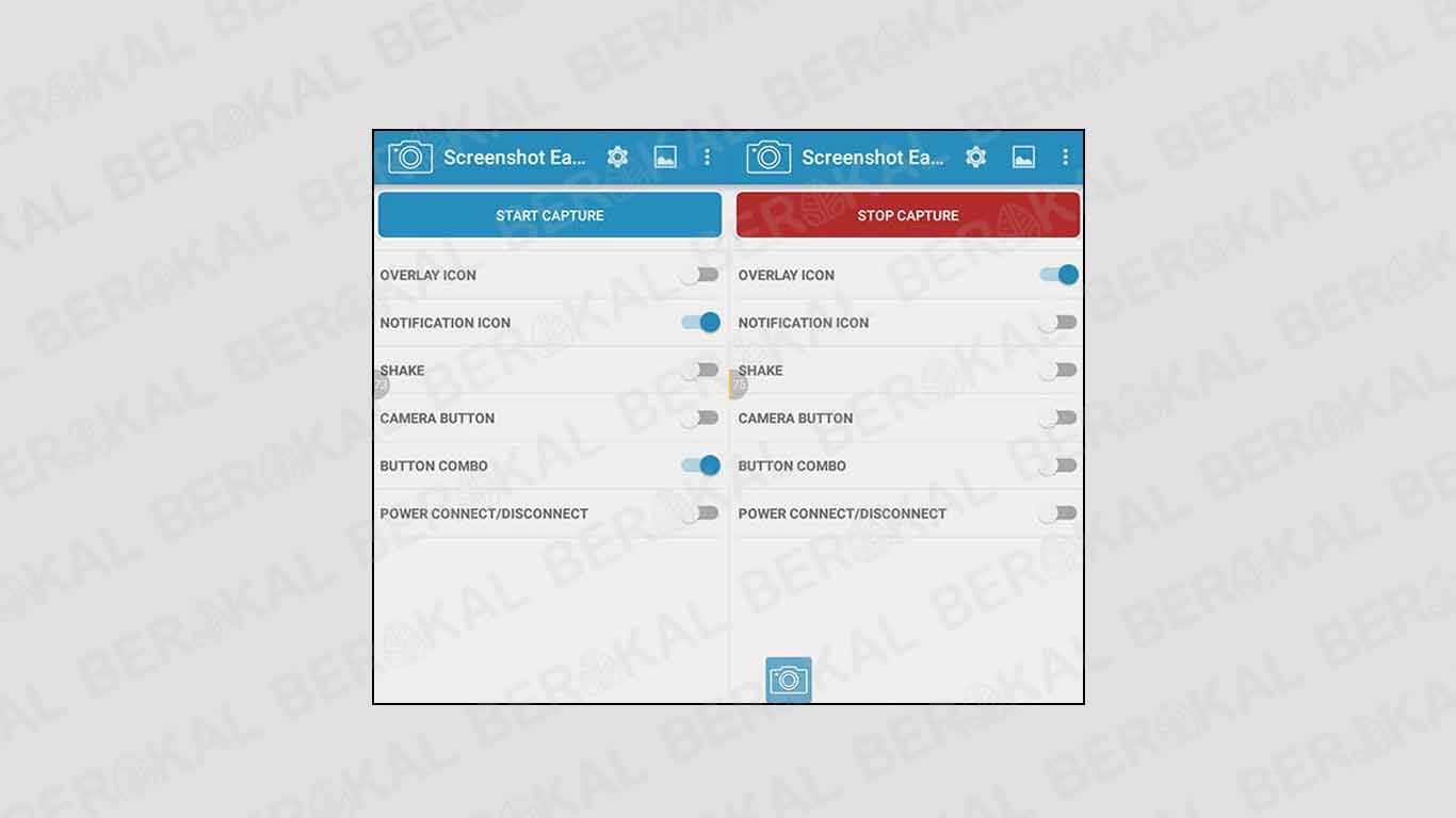 Cara menangkap layar menggunakan screenshot easy
