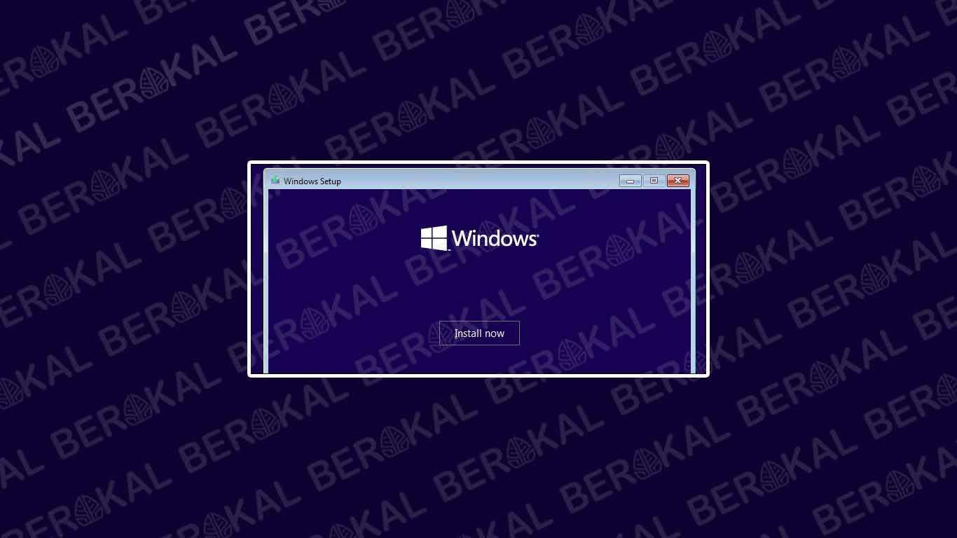 Instal Ulang Windows