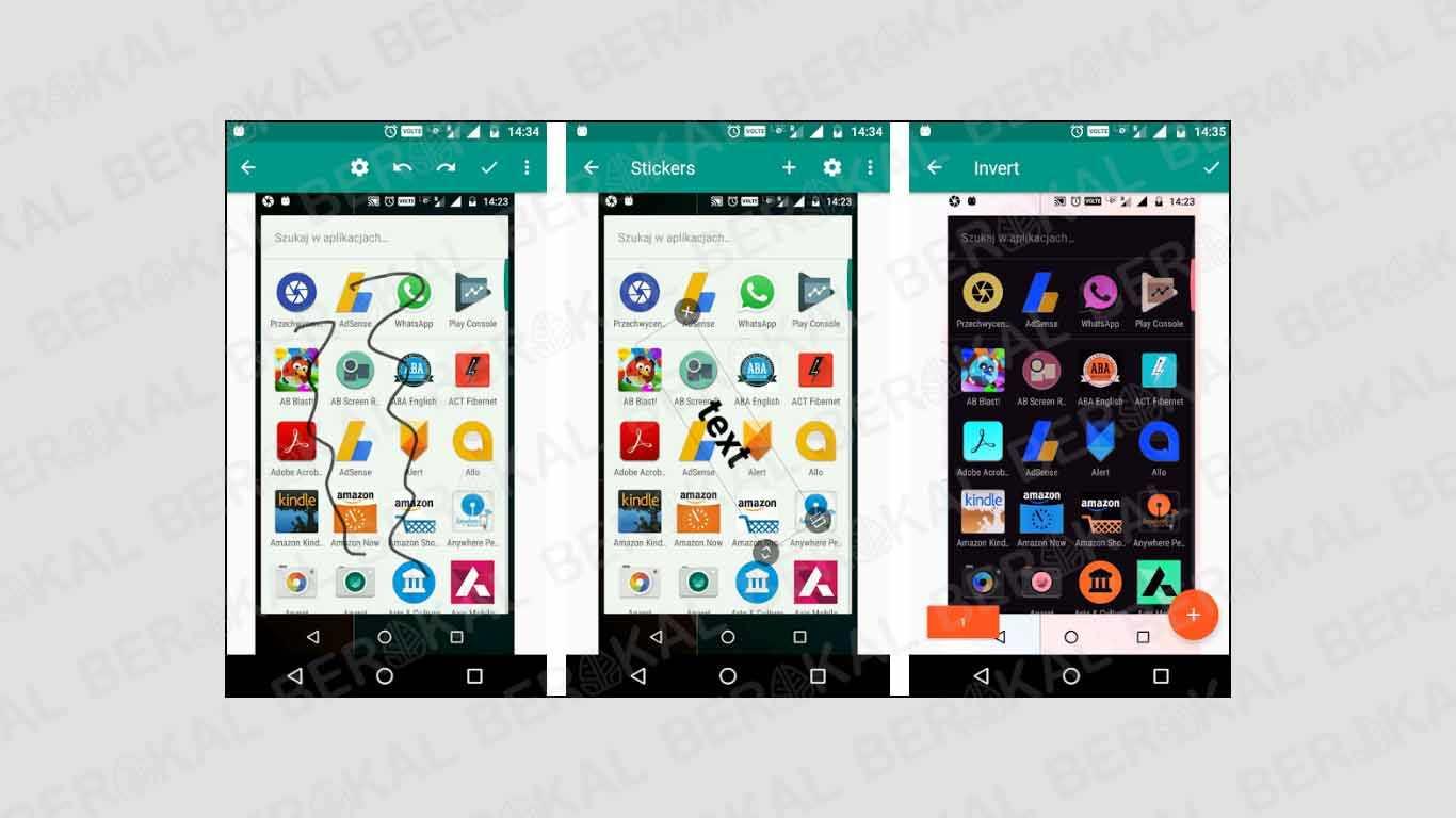 aplikasi screenshot 3 jari