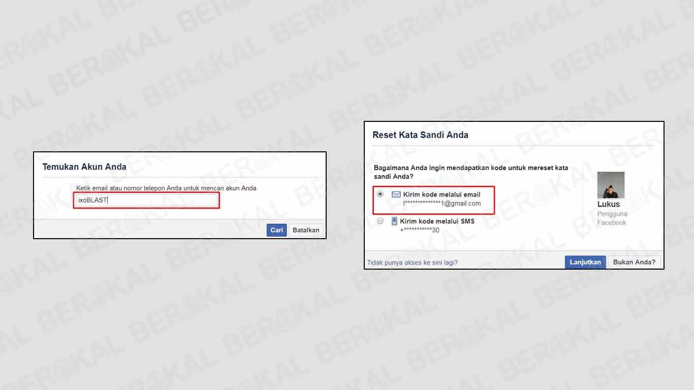 cara melihat email facebook sendiri yang lupa