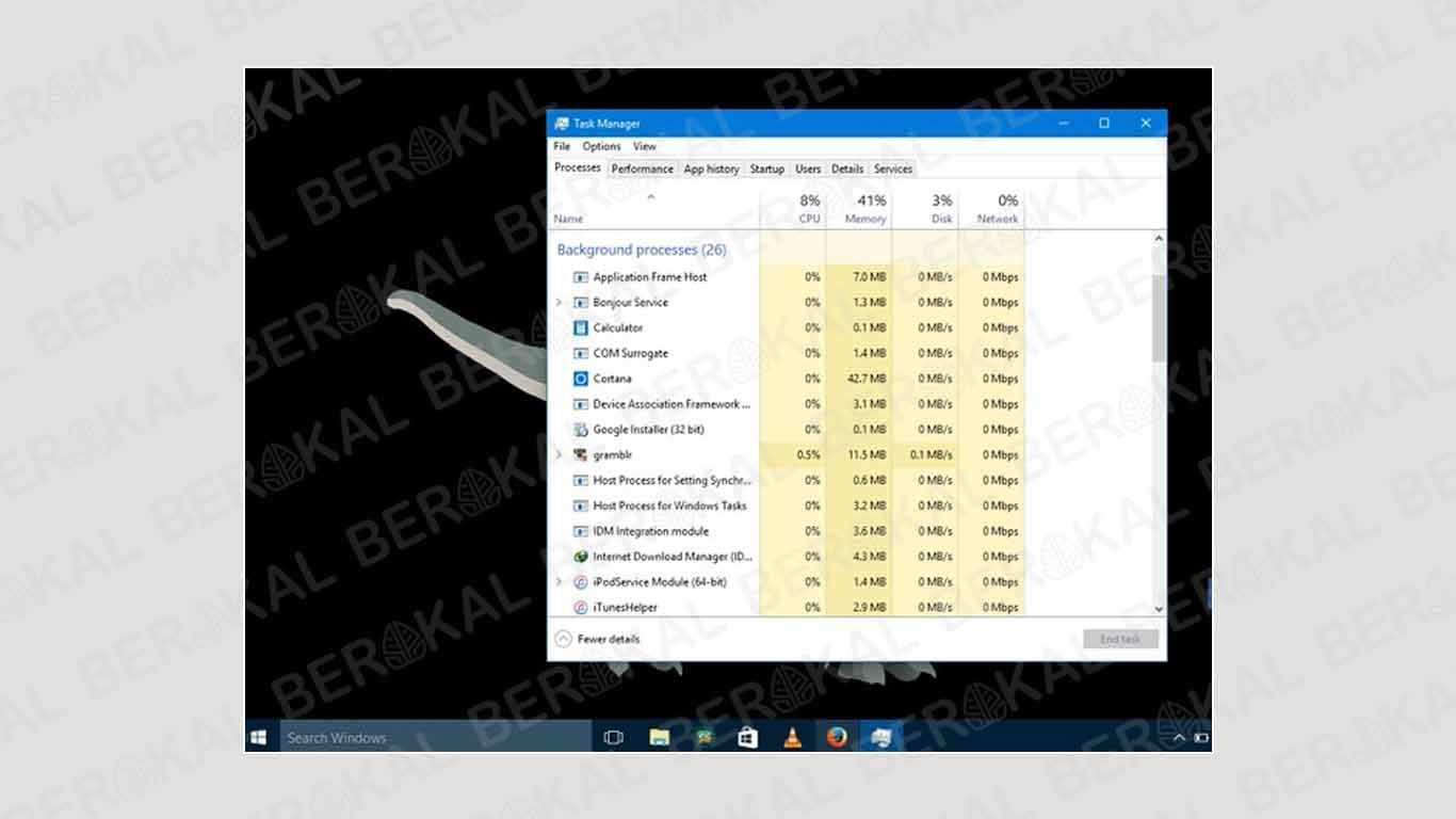 cara mempercepat windows 10 pro 64 bit