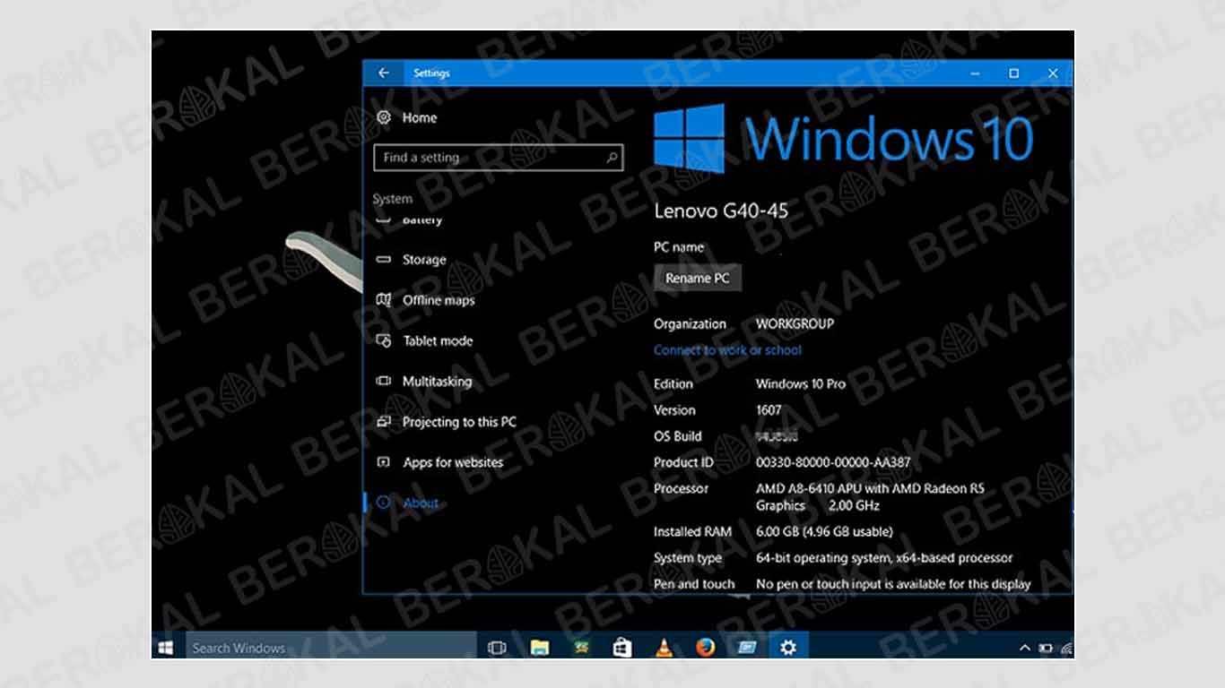 cara mempercepat windows 10 pro