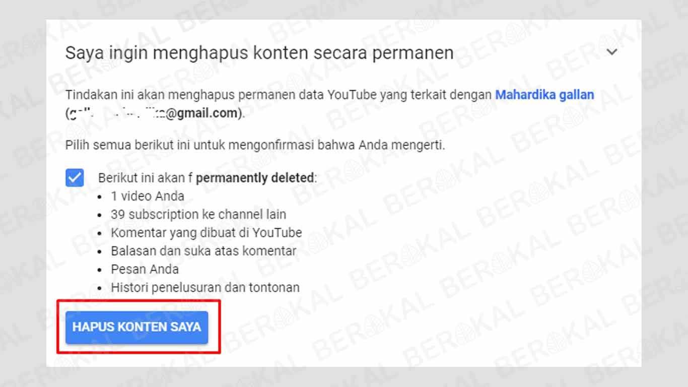 cara menghapus aplikasi youtube secara permanen