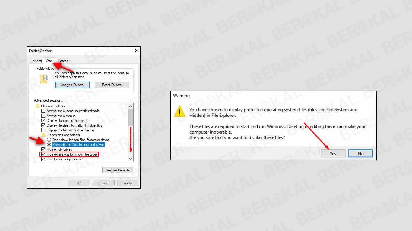 cara menghilangkan virus shortcut di windows 7 ultimate