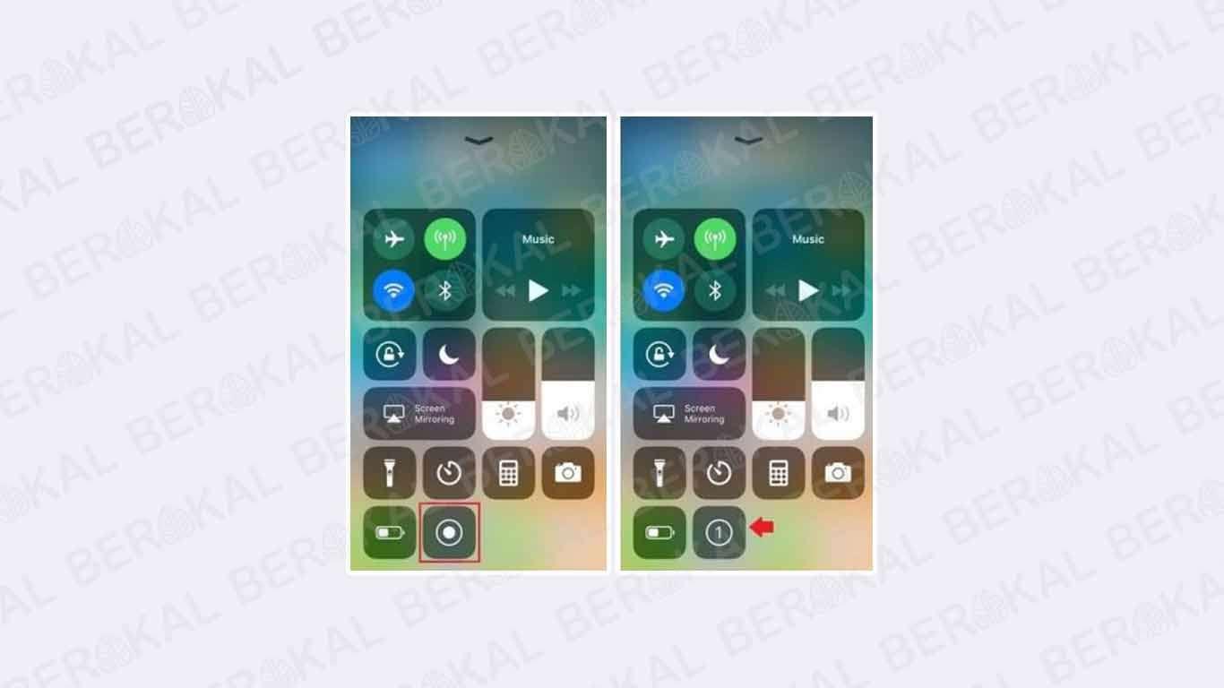 cara merekam layar iphone dengan suara