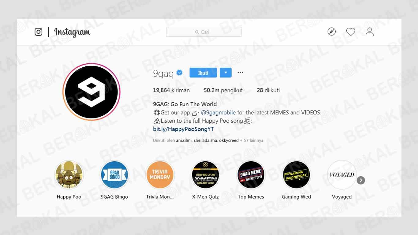 Akun Hits di Instagram