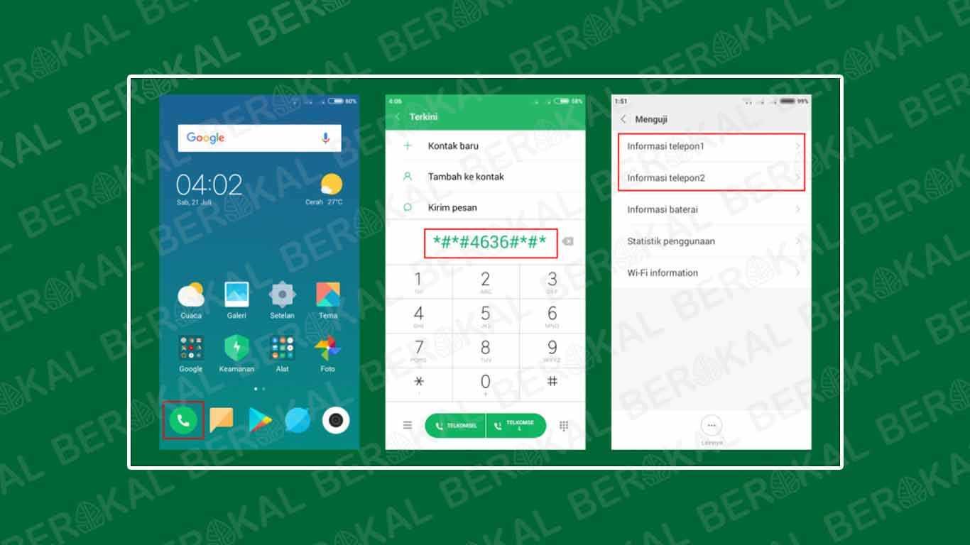 Cara Cek IMEI Xiaomi dengan kode rahasia