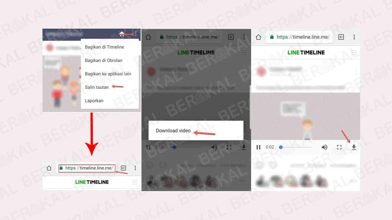 Cara Download Video di Line Tanpa Aplikasi