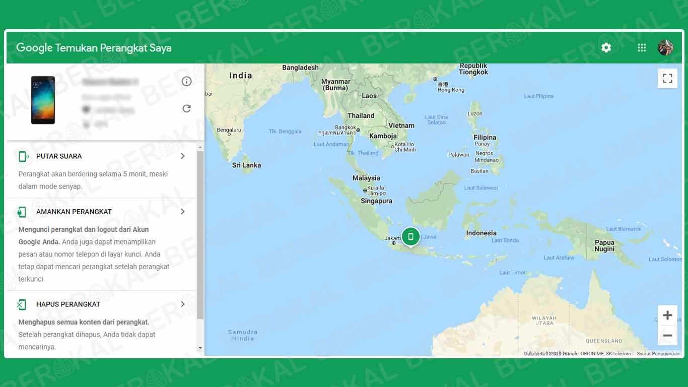 Cara Melacak HP Oppo yang Hilang dengan Google Maps