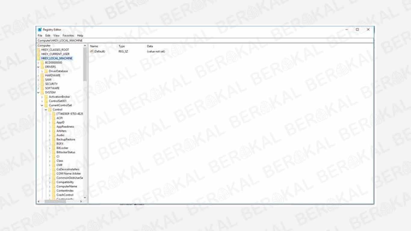 Cara Mengatasi Flashdisk Write Protected degan Registry Editor