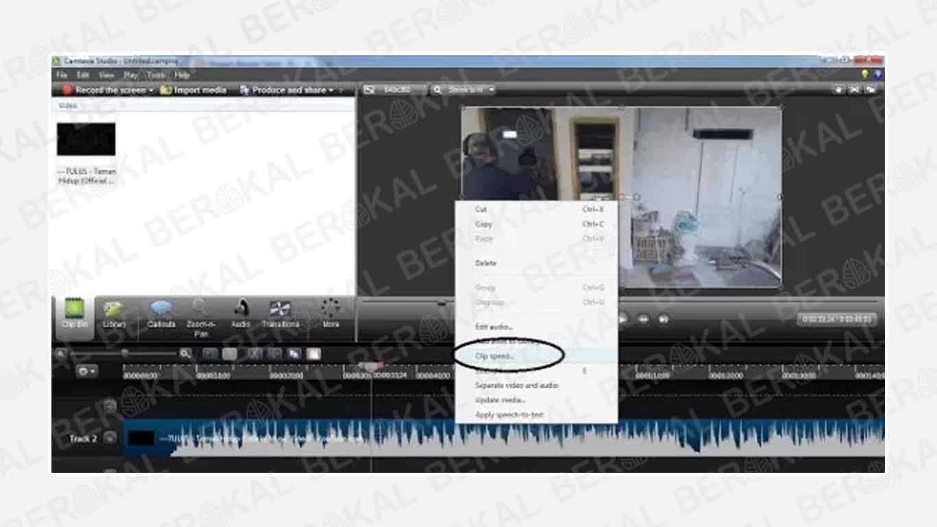 Cara Menghapus Audio di Video dengan Camtasia Studio 8