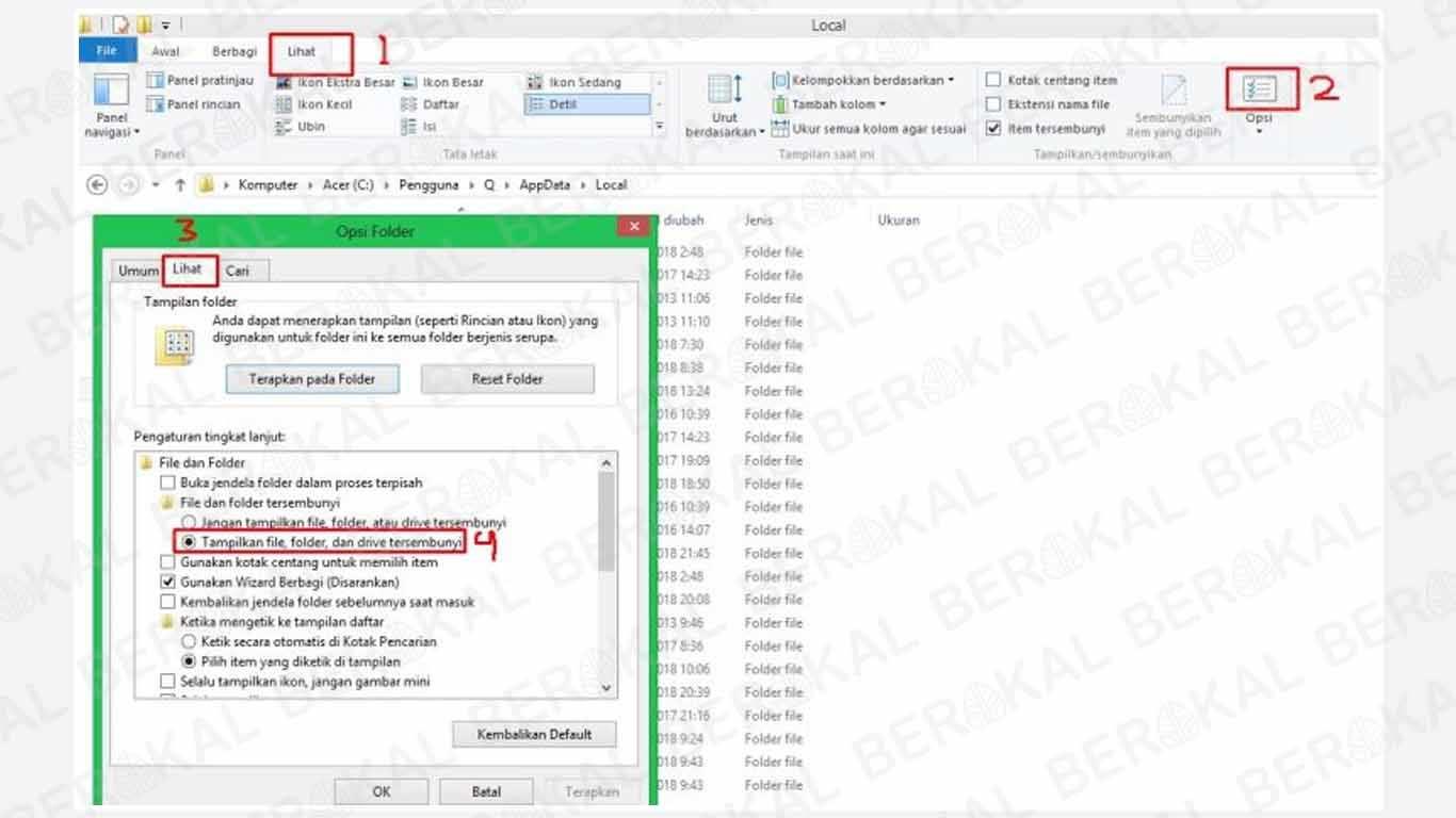 Cara Menghilangkan Chromium Windows 8